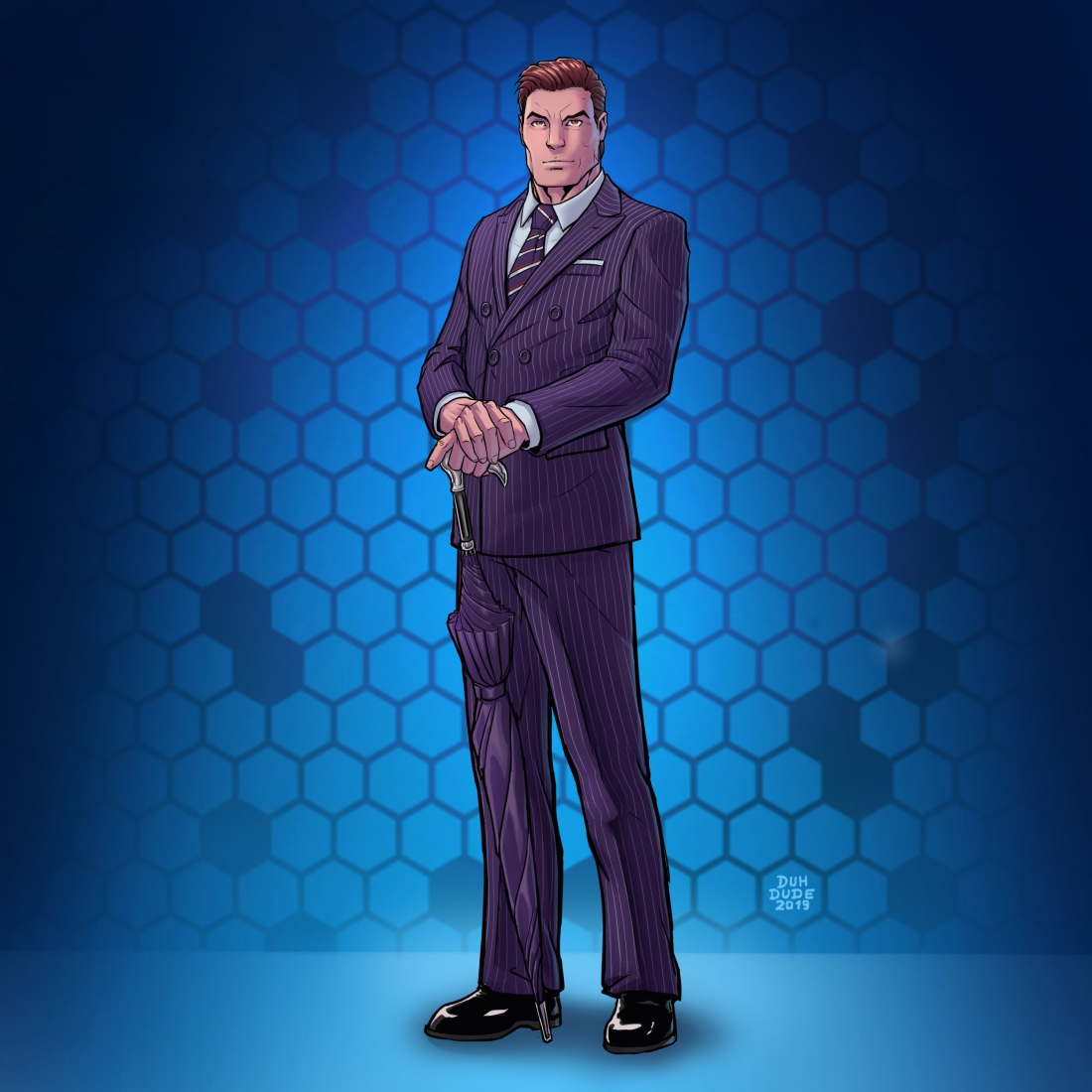 Agent (Ian Flynn) Color